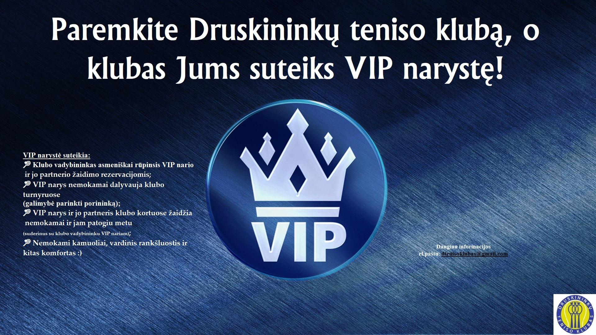 VIP naryste